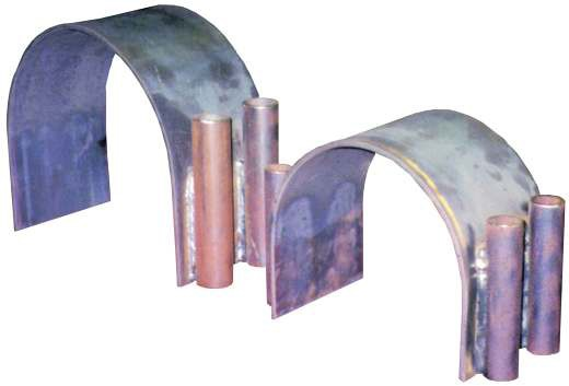 Edmonton Riser Clamp | Clamp On Shoes | Canadian Pipe Clamps